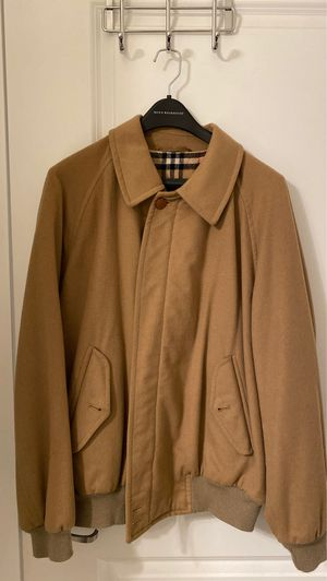 Men's Burberry wool bomber jacket for Sale in Middletown, NY
