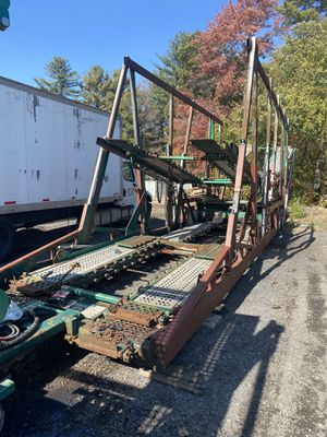 Hi rail car carrier trailer for Sale in Boston, MA