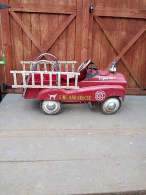 Pedal car fire truck for Sale in Georgetown, KY