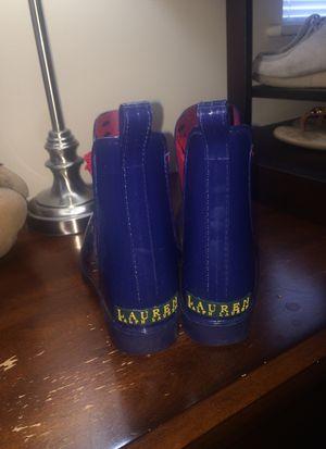 Ralph Lauren Polo Chelsea rain boots for Sale in Douglasville, GA