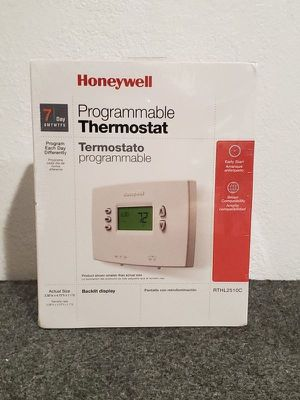 $18 Honeywell thermostat Brand New programmable digital 7-Day RTHL2510C backlit display for Sale in Los Angeles, CA