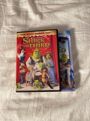 Shrek the third movie for Sale in Lemon Grove, CA