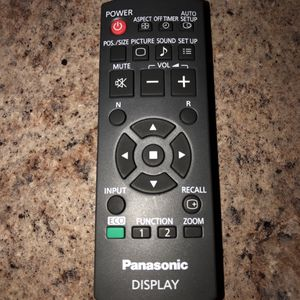 Like new Panasonic display remote control. for Sale in Stone Mountain, GA