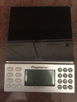 Kitchen scale - weight watchers - almost new for Sale in Chicago, IL