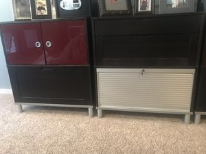 IKEA 3 sets of filing and storage cabinets! Excellent condition! for Sale in Philadelphia, PA