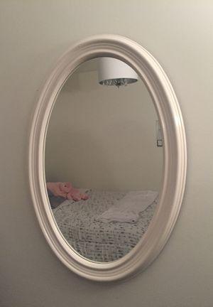 White mirror for Sale in Alexandria, VA