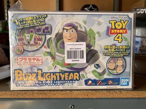 Bran New Ban Dai Toy Story 4 Buzz Lightyear Plastic Model Kit for Sale in Los Angeles, CA