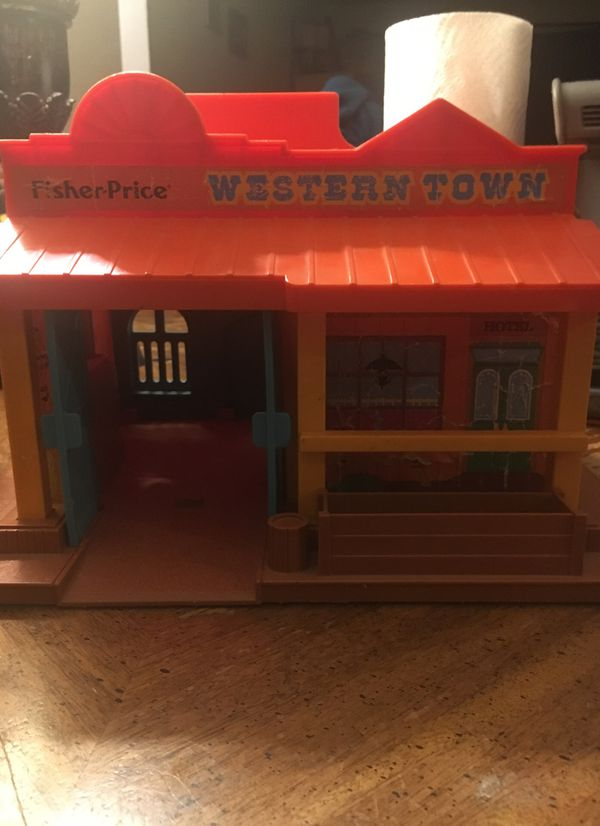 Fisher price western town toy
