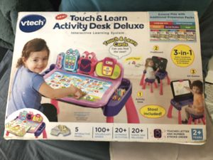VTECH New Touch and Learn Activity Desk Deluxe for Sale in Santa Fe Springs, CA