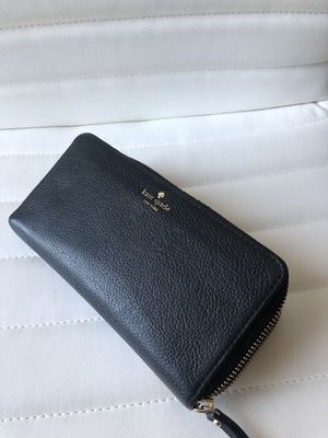 Must Go! Kate Spade ♠️Black Leather Women's Wallet for Sale in Pomona, CA