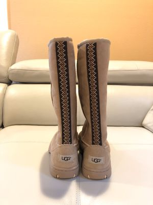 UGG Ultimate Tall Braid Sheepskin Boots size 7 for Sale in Bellevue, WA
