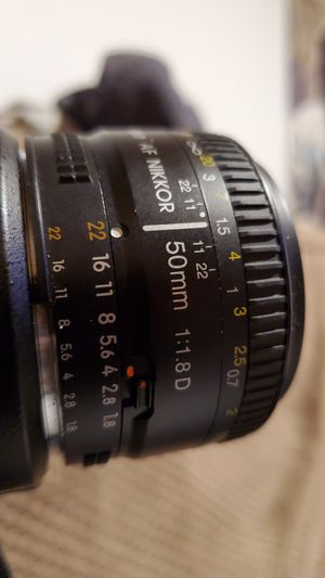 Nikon AF f/1.8D prime lens. 50mm. for Sale in Macungie, PA