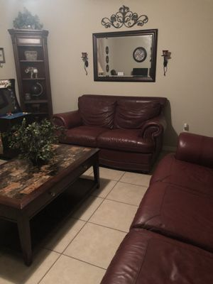 Leather Sofa & Loveseat for Sale in Mulberry, FL