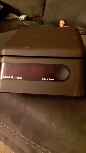 Maul 16580 50 lb postage scale for Sale in Springfield, OR