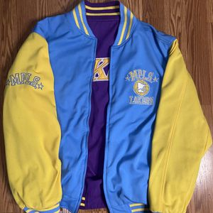 Minneapolis/LA Lakers Reversible Purple/Blue Jacket for Sale in Los Angeles, CA