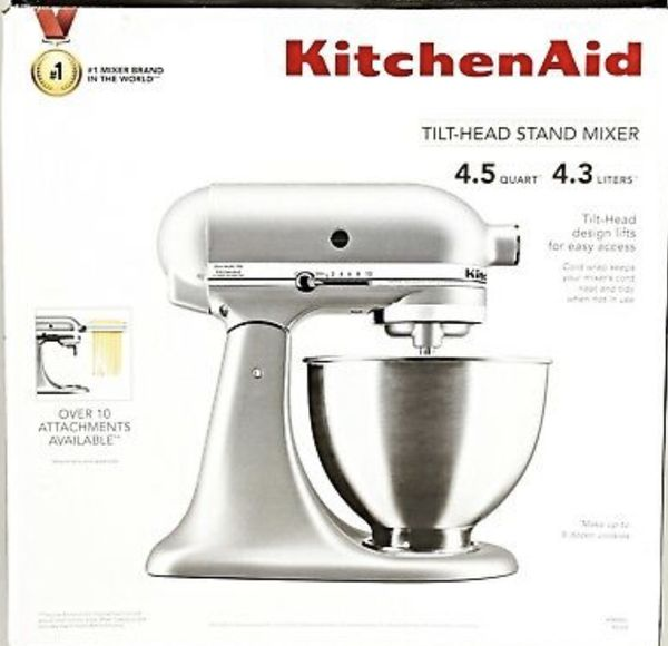 Kitchen aid mixer by kitchenaid white mixer