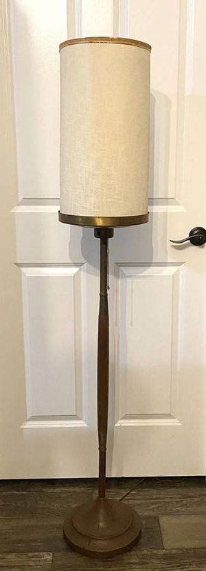 Vintage Antique Mid Century Modern MCM Standing Floor Skinny Cone Lamp for Sale in Chapel Hill, NC