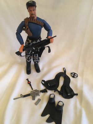"""GI Joe 12"""" Action Figure w accessories $35 for Sale in Toms River, NJ"""