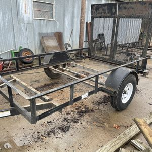 Used Rockin L 6 X 10 Utility Trailer W/2 Ramps.. Title. 3500 LB Axle . NEW Treated Floor . $1100 Cash Firm . Read Ad. for Sale in Fort Worth, TX