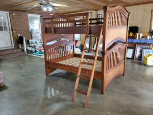 Full over full bunk bed for Sale in Julian, NC