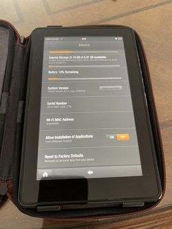Kindle Fire (1st Gen) for Sale in San Diego,  CA