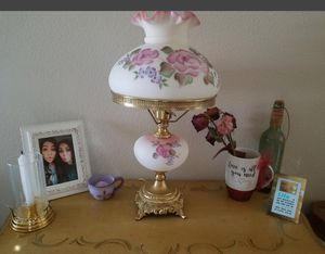 Now $110...Beautiful Authentic Antique Fenton Lamp for Sale in Anaheim, CA