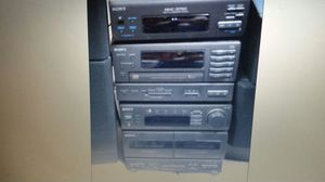 Sony hifi Stereo system HD surround sound Loud Deep Base for Sale in Pasadena, MD