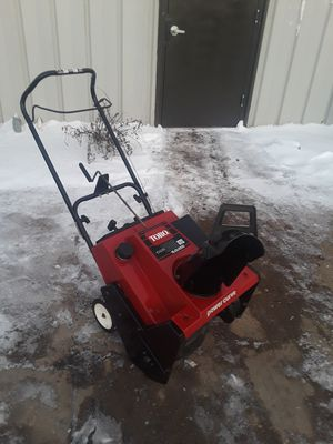 I have for sale a 20 inches cleaning CCR 2500 TORO snow blower. for Sale in Elgin, IL