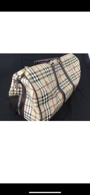 Burberry leather duffel bag for Sale in Nashville, TN