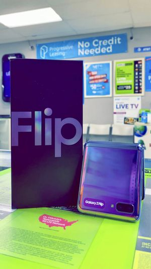 Galaxy ZFLIP 256GB Factory Unlocked / ATT Cricket T-Mobile Metro Starting @ for Sale in Arlington, TX