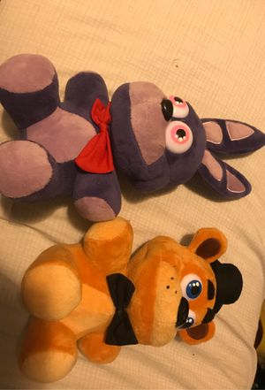 Fnaf plushys for Sale in Forest Grove, OR
