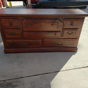 Dark Wood Dresser for Sale in Columbia, SC