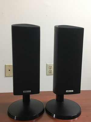 Polk audio luxury high end RM 201 speakers with stands!! for Sale in Malvern, PA