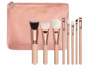 8 pcs pro makeup brush set with large travel cosmetic bag. from LA Makeup for Sale in Los Angeles, CA