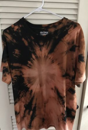 Bleach tie dye shirt size large for Sale in Irmo, SC