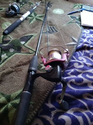 Almost New Rod an Spinning Reel for Sale in Phoenix, AZ