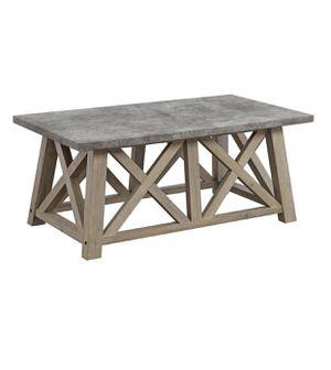 Farmhouse coffee table - Rustic grey for Sale in Taylor, MI