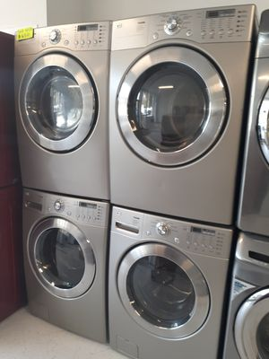 🔥🔥LG washer and electric dryer set in excellent condition 90 days warranty 🔥🔥 for Sale in Mount Rainier, MD