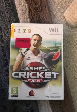 Wii game cricket ASHES (2009) for Sale in Alexandria, VA