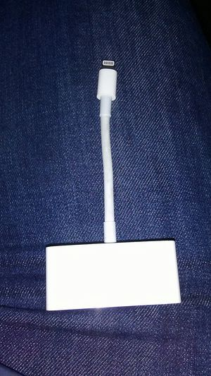 Apple VGA Lighting Adaptor for Sale in Portland, OR