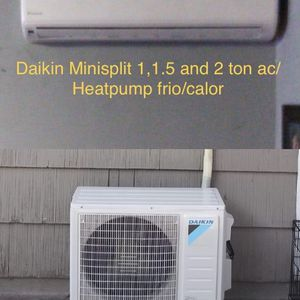 Daikin Minisplit ac with heater (heat pump) for Sale in Houston, TX