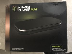 Duracell Powermat (wireless charger 2 phones) for Sale in Warren, MI