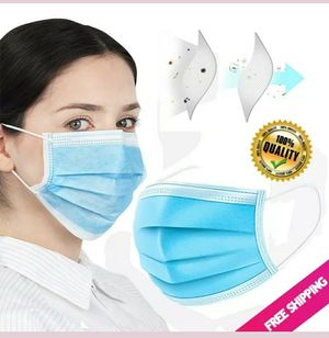 Disposable face mask blue 50 pcs per boxes for Sale in Fresno, CA