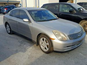 2005 infinity G35 parts for Sale in Dallas, TX