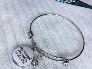 Stainless steel bracelet for Sale in Bridge City, TX