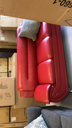 BRAND NEW💥Enna Red Sofa & Loveseat | U2703 for Sale in Jessup, MD