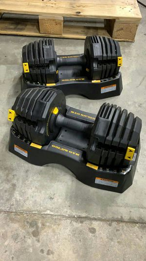 110 lbs. Adjustable Dumbbell Set BRAND NEW!!! for Sale in Houston, TX