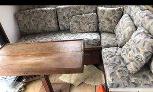 Boat Galley Table and bench seating for Sale in Norfolk, VA