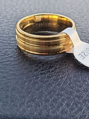 Titanium ring for Sale in Waukegan, IL