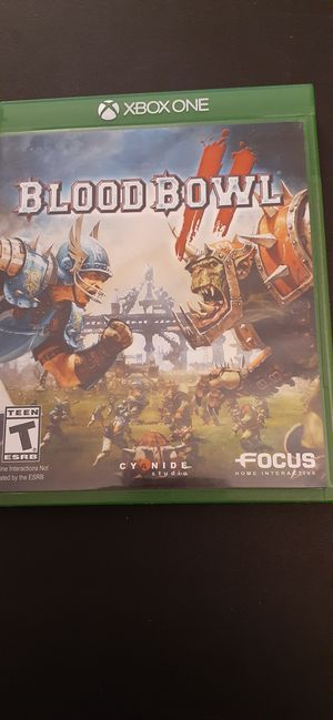 BLOOD BOWL II (X-Box ONE & Series X) for Sale in Lewisville, TX